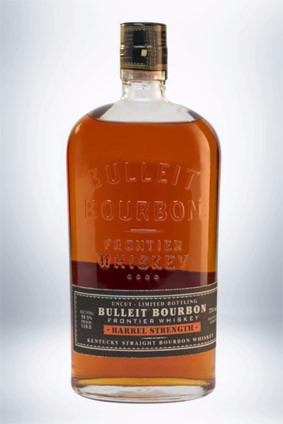 Diageos Bulleit Barrel Strength Frontier Whiskey