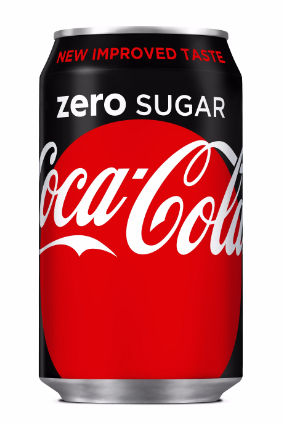 Reformulated Coca-Cola Zero Sugar started rolling out last year