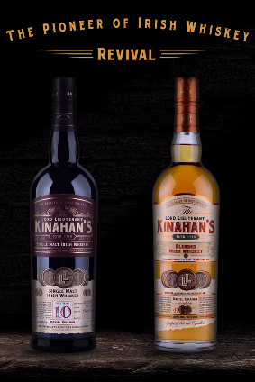 Kinahans will be handled in the UK by Mangrove distributors