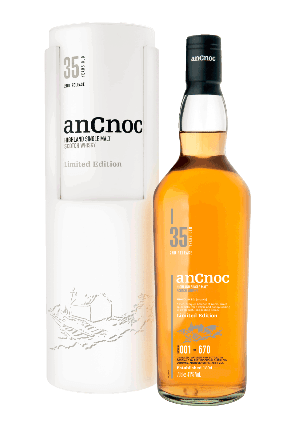 Inver House Distillers anCnoc 35 year old second release