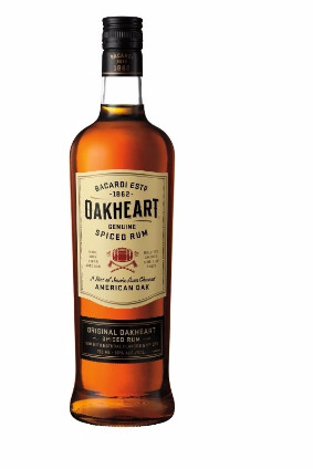 The new Oakheart packaging will distance the expression from brand Bacardi