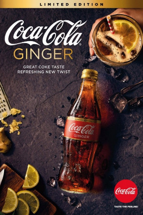 Coca-Colas new ginger-flavoured Coke is initially available in Australia