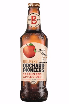Heinekens Bulmers Orchard Pioneers Sarah's Red Apple Cider