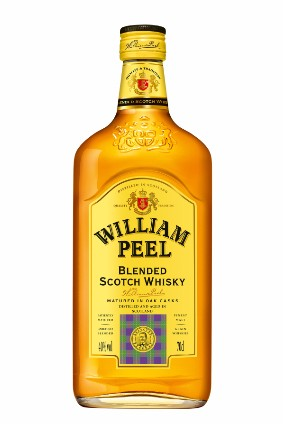 Marie Brizards flagship brand is William Peel, the biggest-selling blended Scotch in France