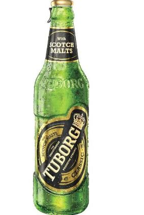 Carlsbergs Tuborg Classic with Scotch malts