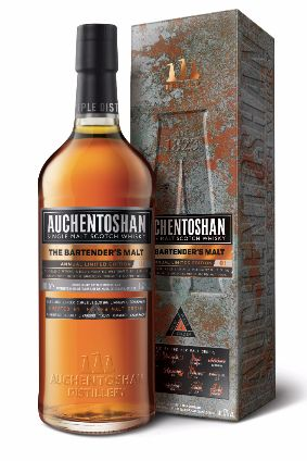 Beam Suntory's Auchentoshan The Bartenders' Malt, available this month