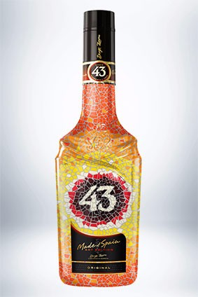 The Made of Spain Art bottle for Licor 43 will be replaced annually