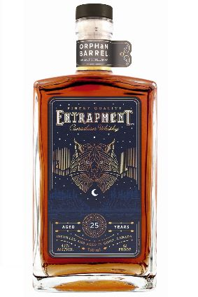 Diageos Entrapment Canadian Whisky