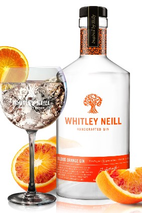 Halewoods Whitley Neill Blood Orange Gin will roll out to the UK next week