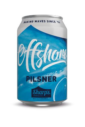 Sharps Cornish Pilsner is now called Offshore