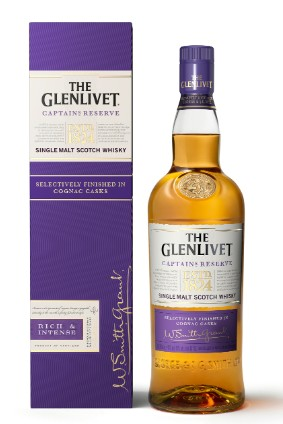 Pernod Ricards The Glenlivet Captain's Reserve