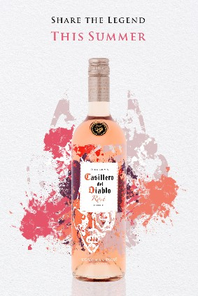 Casillero del Diablo Summer Rosé is made with cinsault from the southern region of Chile
