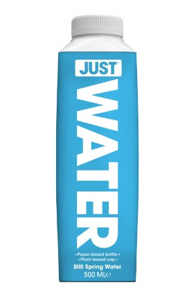 Just Waters UK distributor said the brand is already having a positive impact on the environment
