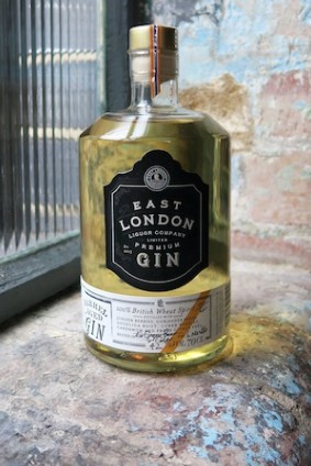 East London Liquor Cos Barrel-Aged Gin cider and ginger beer