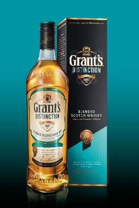 Grant's Distinction will initially be exclusively available in India, William Grant said