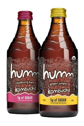 Humm Kombuchas Raspberry Hops is one of a couple of new launches at the company