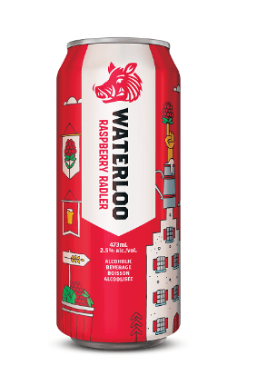 Waterloo Raspberry Radler is available at The Beer Store, LCBO and selected grocery stores across Ontario