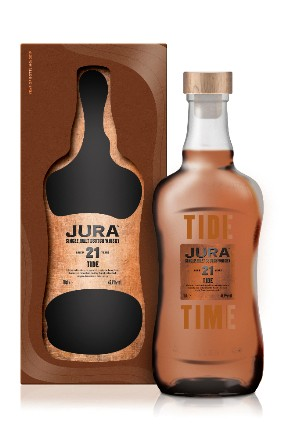 Whyte & Mackays Jura Time and Tide 21-year-old whiskies