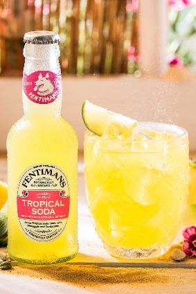 Fentimans Tropical Soda rum mixer