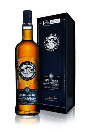The Loch Lomond Single Malt Vintage 2002 is matured using wine from golfer Cristie Kerrs Napa Valley winery