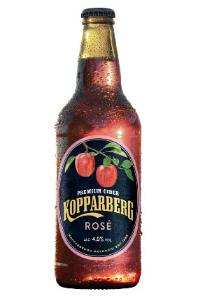 Kopparberg said the cider is coloured with red apple skins