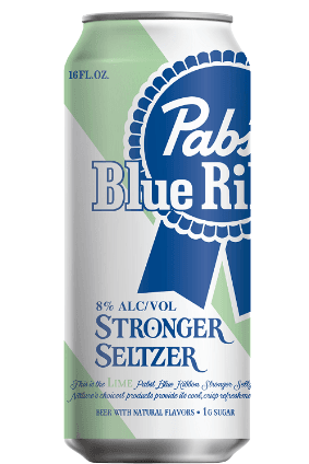 "Pabst Brewing said Stronger Seltzer is a ""fun and innovative new drink"" under the PBR brand"