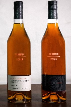 The two Germain-Robin brandies will be available in the US in limited numbers
