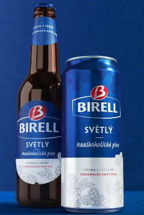 The new look for Asahis Birell beer brand will roll out in the coming weeks