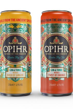 Quintessentials Opihr London Spiced Dry Gin launched this month in the UK