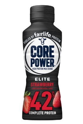 Fairlife Core Power Elite Strawberry will be available this month across the US