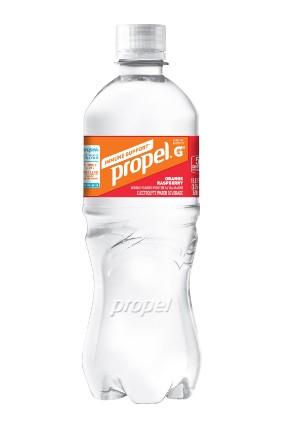 PepsiCos Propel Immune System contains zinc and vitamin C
