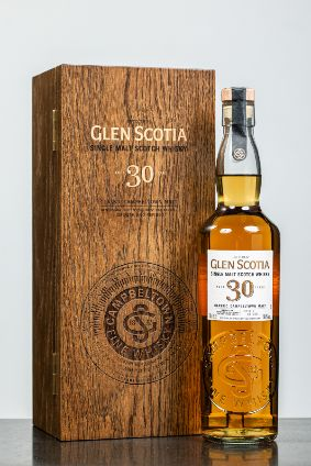 The 30 year old Glen Scotia is limited to 500 bottles