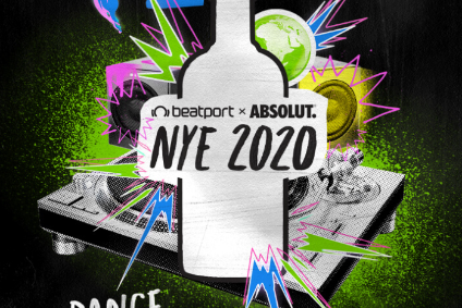 The New Years Eve event is part of Absolut's global campaign launched in November, targeting Gen Z consumers