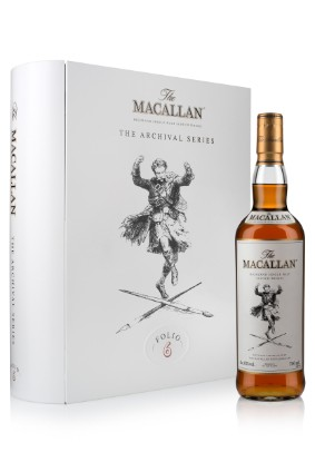 Edringtons The Macallan Folio 6 celebrates the brands historic advertising campaigns