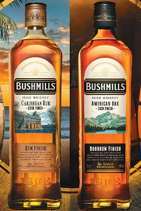 Bushmills Original Cask Finish series is starting with two iterations
