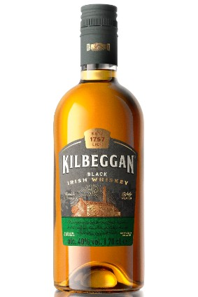 Kilbeggan Black Irish whiskey