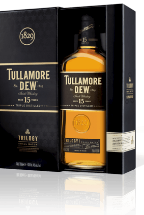 Tullamore Dew Trilogy is matured in three different types of cask