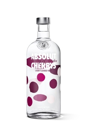 Pernods Absolut Cherrys, being launched in the UK  next week