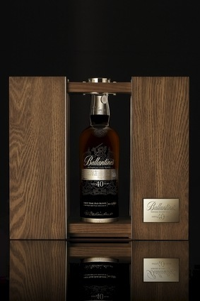 The new Ballantines will be on sale in Asian Travel Retail