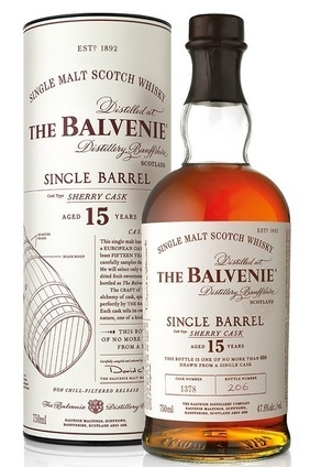 William Grant & Sons The Balvenie 15 Year Old Single Barrel Sherry Cask