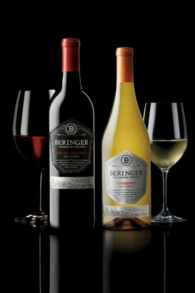 Treasurys Beringer wines will appear on the Food Network