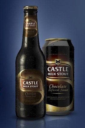 SABMillers Castle Milk Stout Chocolate Infused Stout launched in South Africa this week
