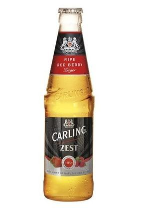 Molson Coors Carling Zest Red Berries