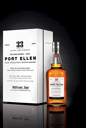 Port Ellen 33 years old is among Diageos latest releases