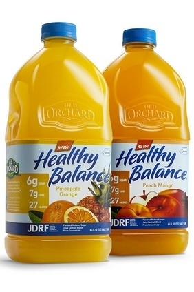 Old Orchard Brands' Old Orchard Healthy Balance Pineapple Orange, Peach Mango