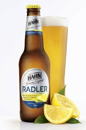 The radler is 3.2% abv
