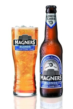 Magners Blonde cider boasts fewer carbs and calories