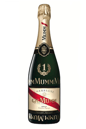 The limited edition Cordon Rouge from Pernod Ricard's G.H. Mumm Champagne brand launches this month