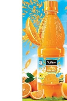 5Alive Pulpy Orange is made from Nigerian oranges