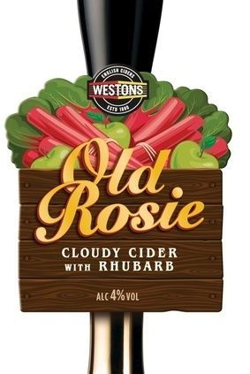Old Rosie with rhubarb will be available for a limited period